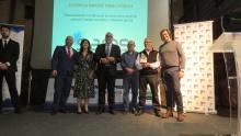 Entrega del premio a la Trayectoria Empresarial