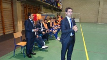 Carlos Sánchez, entrenador del Manzanares FS