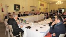 Más de veinte medios y cerca de cuarenta profesionales asistieron a la convocatoria