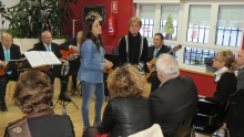 Prado Zúñiga resaltó el trabajo de Beatriz Esteban en el Centro de Mayores