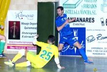 El portero Raúl evitó que la victoria quedara en casa. Foto: Romero