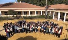 Foto conjunta de los participantes seleccionados en el concurso