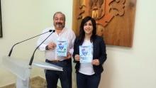 La concejala de Promoción del Pequeño Comercio, Gemma de la Fuente, y el concejal de Seguridad, Miguel Ramírez, presentaron la campaña de alertas en octubre