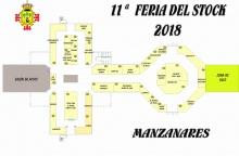 Plano de la 11 edición de la Feria del Stock