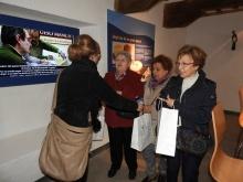 Las participantes han recibido un obsequio tras la visita