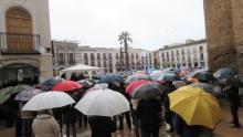La lluvia no impidió una alta asistencia