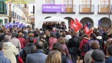 Varios centenares de personas se han sumado a la convocatoria