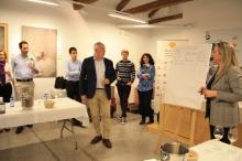 Los participantes sugerían características de los vinos de color, olor y sabor