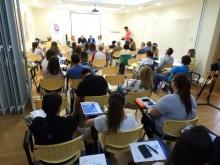 Más de 50 personas asisten al curso