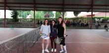Clausura del curso de la Escuela Municipal de Tenis