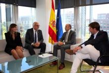 Reunión en la sede de SEPES en Madrid
