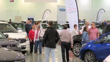 Visitantes del Salón del Automóvil 2017