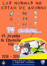 Cartel VII Jornadas de Educación Vial