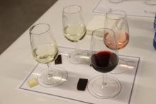 Cata de vino y chocolate 'Desafío con sentido'
