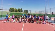 Clausura de la escuela infantil de tenis
