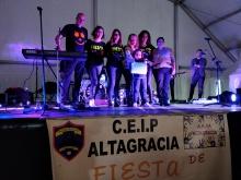 AMPA de Altagracia en una actividad solidaria celebrada el pasado curso