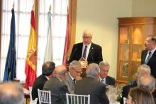 Intervención del alcalde de Manzanares en el acto de Tertulia XV