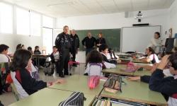 Inicio de las clases teóricas en una clase del colegio Don Cristóbal