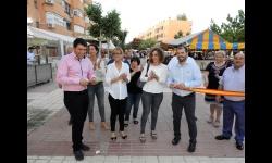 """Corte de cinta inaugural de las fiestas del Barrio """"Nuevo Manzanares"""""""