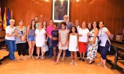 """Recepción de participantes en el Programa """"Vacaciones en Paz"""""""