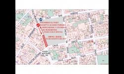 Continuación de obras de semipeatonalización hasta Plaza Alfonso XIII