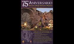 Cartel conmemorativo del 75 aniversario de la imagen