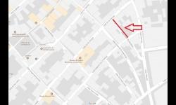 Corte al tráfico en calle Orden de Montesa