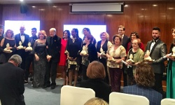 Foto de los galardonados