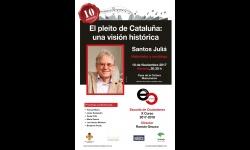 Cartel de la conferencia de Juliá