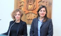 Beatriz Labián e Isabel Díaz-Benito