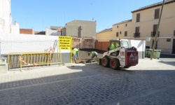 Acondicionamiento del acceso al parking
