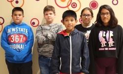 Protagonistas del vídeo conmemorativo producido por las concejalías de Educación y Juventud