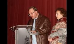 Sebastián Rodríguez junto a la coordinadora de Servicios Sociales, Pilar Serrano