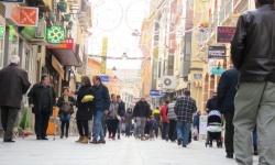 La campaña volvió a ser un incentivo para hacer las compras navideñas en Manzanares