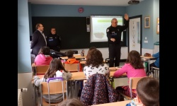 La Policía Local imparte charlas de educación vial en los colegios locales