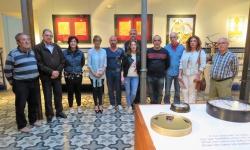 Artistas participantes junto a las concejalas Silvia Cebrián y Gemma de la Fuente
