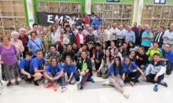Participantes en el encuentro intergeneracional de Empu-G