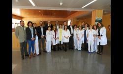 Visita al Hospital de Día Oncohematológico del Hospital Virgen de Altagracia