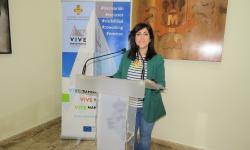 Gemma de la Fuente en la presentación del programa de Becas en Empresa 2018