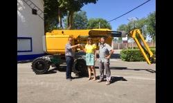 La concejala de Obras y Servicios recepcionó la máquina