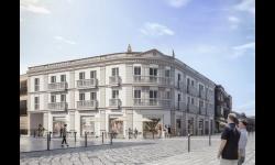 Proyecto del nuevo edificio a construir en el solar del casino