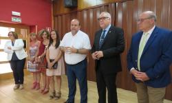 El vicepresidente del Gobierno Regional felicita al nuevo Consejo de Mayores
