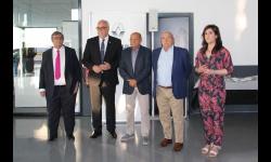 El alcalde de Manzanares participó en la inauguración del nuevo concesionario Renault-Dacia