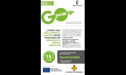 Cartel de la convocatoria del programa Go2Work