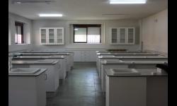 Laboratorio del IES Pedro Álvarez de Sotomayor en obras