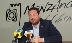 Pablo Camacho durante la presentación del Salón del Automóvil 2018