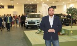 Pablo Camacho en la clausura del Salón del Automóvil 2018