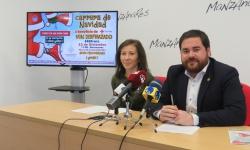 Presentación de la Carrera de Navidad de Manzanares a beneficio de Cruz Roja