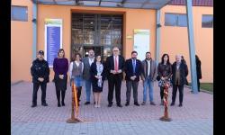 Autoridades en la inauguración de la Feria del Stock