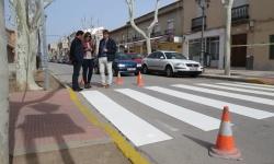 Pintura pasos de peatones